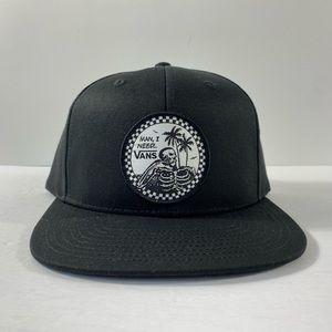 Vans Man I Need Vans Snapback Hat
